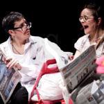 """Teatro. Al Clan Off in scena """"Due passi sono"""" della compagnia Carullo-Minasi"""