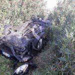 Cronaca. Grave incidente sulla A20, svincolo di Barcellona: auto nella scarpata e due feriti