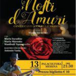"Musica. Al Palacultura di Messina ""Notti d'amuri"""