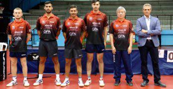 Sport. Presentazione della Top Spin Messina di tennistavolo