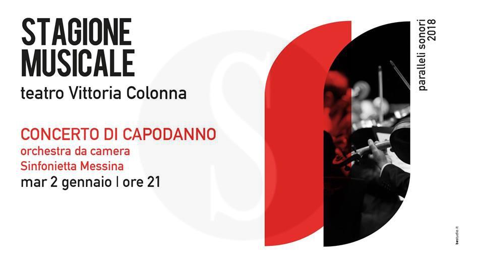 Musica. Concerto di Capodanno dell'Orchestra Sinfonietta Messina al Teatro Vittoria Colonna