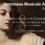 """Musica. Artisti di fama internazionale a Catania per la""""Settimana Musicale Agatina"""""""