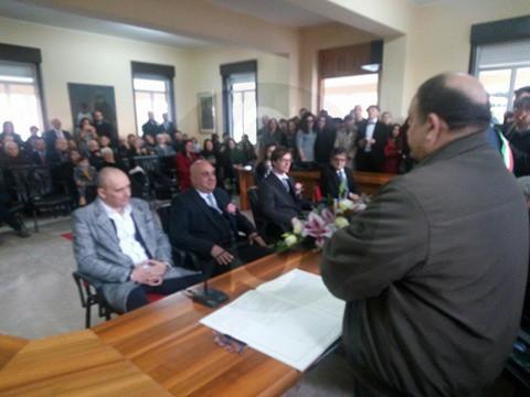 Attualità. Amore&civiltà: l'unione in municipio di Rosario e Alex a Merì