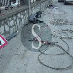 Cronaca. Barcellona PG, Golf si schianta contro palo della luce: ferite due donne