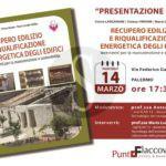 """Cultura. A Palermo la presentazione del libro """"Recupero edilizio e riqualificazione energetica degli edifici"""""""