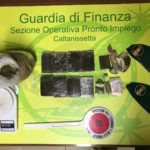 Cronaca. La Guardia di Finanza sequestra 2 chili di droga a Caltanissetta