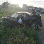 Cronaca. Incidente sull'asse viario di Milazzo: Peugeot 206 precipita in un burrone