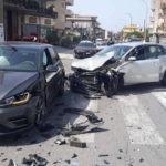 Cronaca. Violento scontro tra auto a Torregrotta, due i feriti