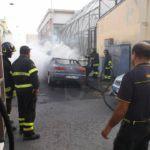Cronaca. Messina, auto in fiamme in via Natoli