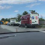 Cronaca. Camion in fiamme sulla A18: molta paura e traffico paralizzato per ore