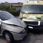 Cronaca. Barcellona PG, schianto tra un'auto e un furgone a Sant'Antonio: un ferito