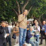 Politica. De Luca e Sicilia Vera liberano un ragazzo disabile dalle barriere architettoniche