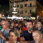 Politica. Messina, la campagna elettorale al rush finale: bagno di folla per De Luca, l'appello di Bramanti