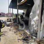 Cronaca. Barcellona PG, incendio in un vivaio in contrada Pozzoperla