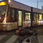Cronaca. Messina, incidente tra tram e scooter alla ZIR: centauro in ospedale