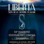 """Cinema. Taormina Film Fest, al Palazzo dei Congressi """"La libertà non deve morire in mare"""" del regista catanese Alfredo Lo Piero"""