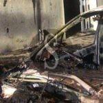 Cronaca. Due auto in fiamme nella notte a Saponara: ipotesi dolosa