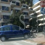 Cronaca. Messina, incidente in viale Regina Margherita: Panda si schianta su aiuola spartitraffico