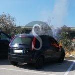 Cronaca. Barcellona PG, in fiamme auto parcheggiata alla stazione FS