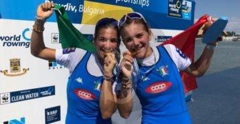 Canottaggio. Le sorelle Serena e Giorgia Lo Bue si aggiudicano il titolo mondiale assoluto