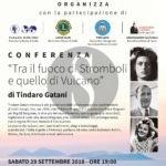"""Cultura. Tindaro Gatani rievoca """"La guerra dei vulcani"""" a Barcellona Pozzo di Gotto"""