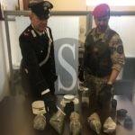 Cronaca. Trovato con 1 chilo e 230 grammi di marijuana, arrestato 30enne a Taormina