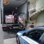 Cronaca. La Polizia Stradale di Barcellona PG sequestra migliaia di alimenti surgelati destinati a Milazzo e Catania