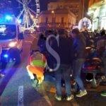 Cronaca. Messina, Suv taglia la strada a uno scooter: due feriti