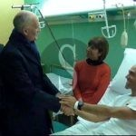Incidente mortale A18, Gabrielli in visita al poliziotto ferito