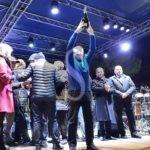 Politica. Messina, comizio di fine anno di De Luca: attacchi alle lobby e Giunta confermata al completo