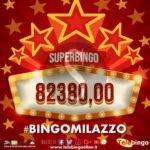 Attualità. Vincita boom alla sala bingo di Milazzo, donna vince oltre 80mila euro