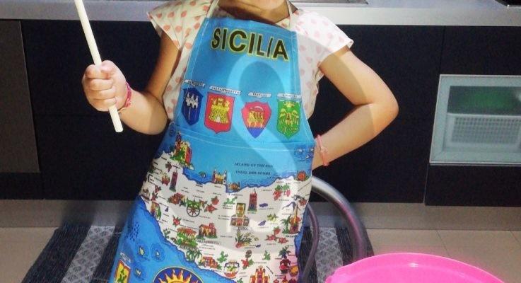 """Regina dei fornelli ad appena 4 anni: su Sicilians arriva """"La cucina di Sophia"""""""