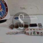 Nascondeva mezzo chilo di marijuana in un beauty case, arrestato 43enne a Messina