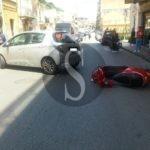 Messina, grave incidente in via del Santo: centauro in codice rosso al Policlinico