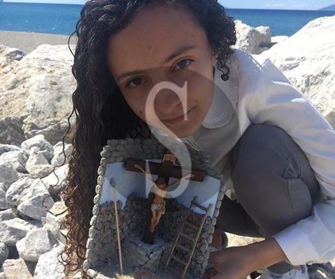 Arte presepiale, la giovane siciliana Serena Lo Conti ha vinto un concorso pasquale in Puglia