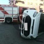Messina, incidente tra auto e furgone in via Luciano Manara: un ferito