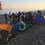 Sant'Agata Militello, sgomberato accampamento nomadi dalla spiaggia: 3 denunce e un'espulsione
