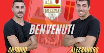 Serie D, primi colpi in casa Messina: ufficiali Fragapane e Crucitti