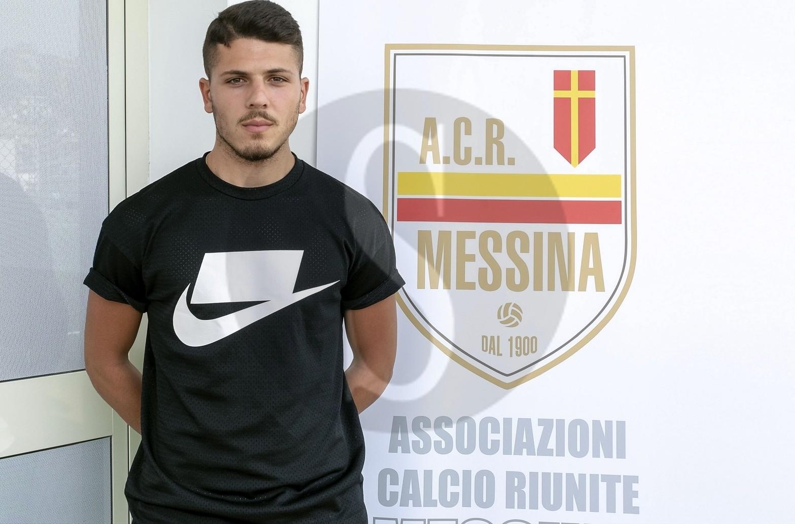 Serie D, altro acquisto per il Messina: ingaggiato il difensore Francesco Forte