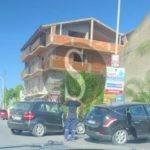 Barcellona PG, violento incidente tra due auto in via Stazione Nuova