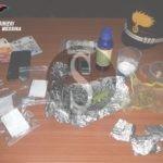 Spaccio di cocaina e marijuana: due arresti a Torregrotta