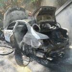 Auto a fuoco sulla Messina-Palermo: circolazione in tilt e traffico paralizzato