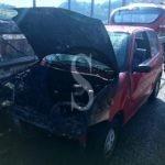 Auto in fiamme in autostrada a Messina, tempestivo l'intervento dei vigili del fuoco
