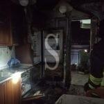 Messina, incendio nella cucina di un'abitazione. Intera palazzina evacuata