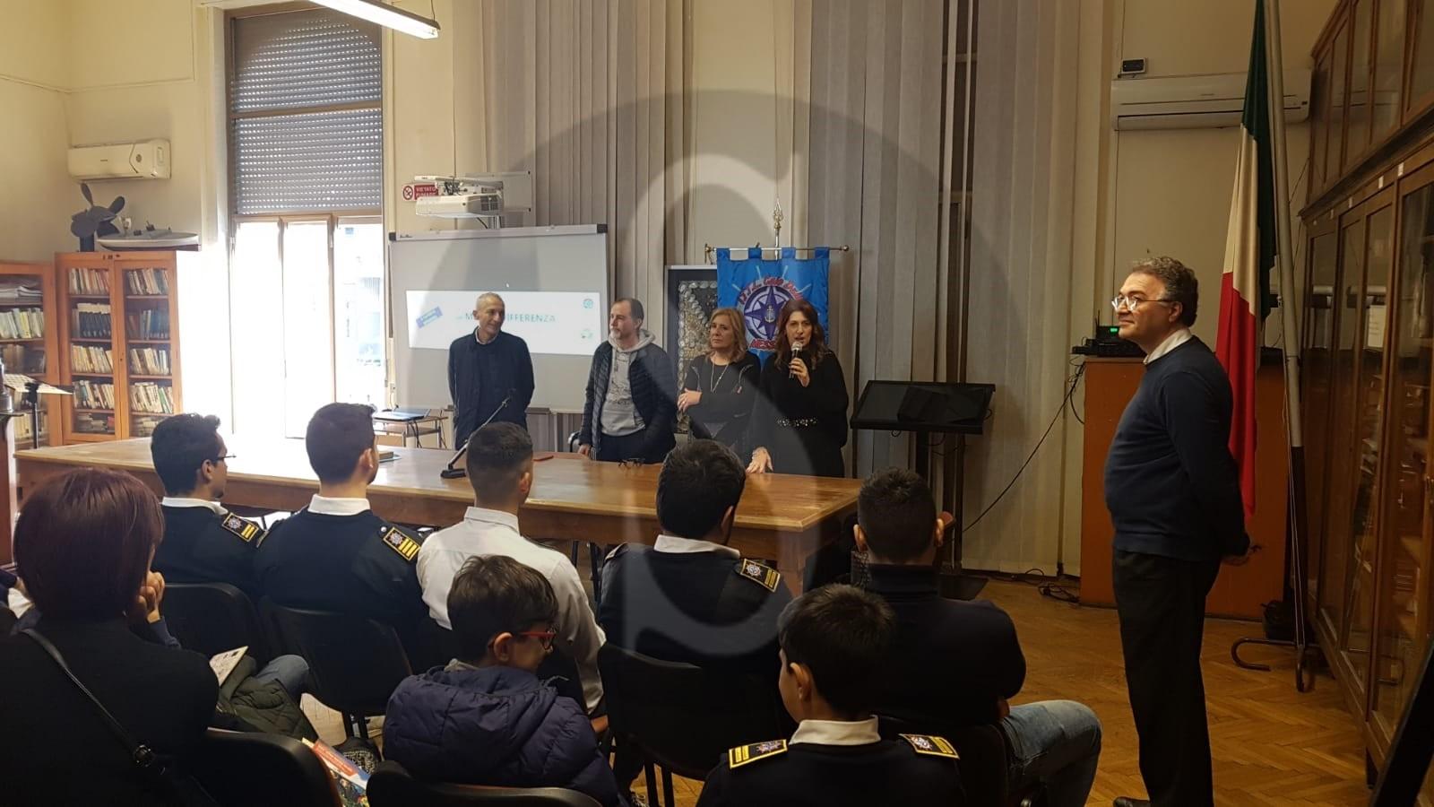 """Messina, educazione ambientale: """"Un mare di differenza"""" con il Caio Duilio"""