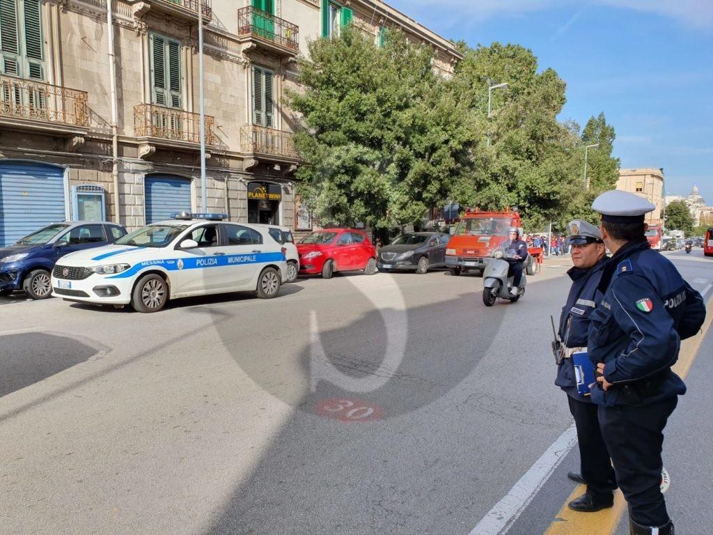 Messina, controlli e carro attrezzi in corso Cavour: oltre 30 verbali e 6 auto rimosse