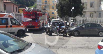 Messina, a fuoco una friggitrice: paura a Camaro San Paolo