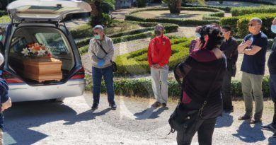 Messina, al Cimitero Monumentale l'ultimo saluto a Lucio D'Antonio