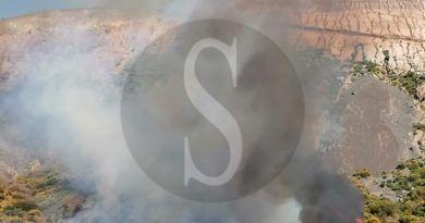 Isole Eolie, secondo incendio in 20 giorni a Vulcano