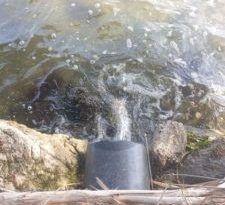 """Il lago di Ganzirri inquinato da una piscina della """"Messina bene"""", indagati i proprietari"""